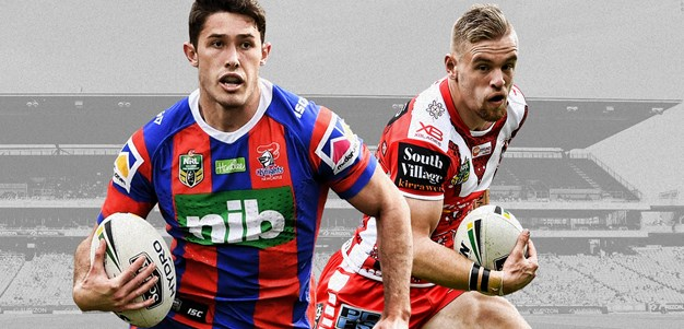 Knights v Dragons - Round 25