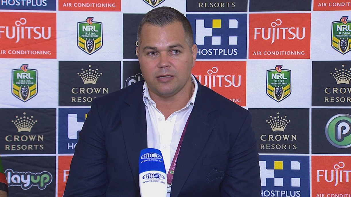 Rabbitohs press conference - Round 25
