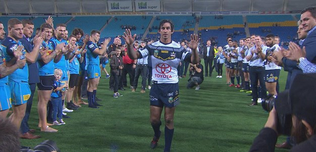 Thurston's guard of honour