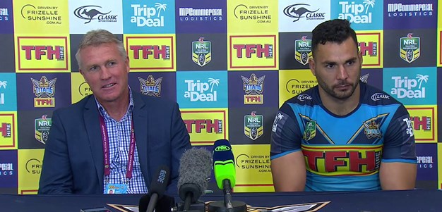 Titans press conference - Round 25