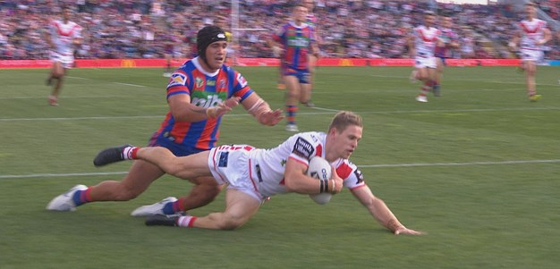 Dufty extends Dragons advantage