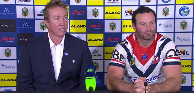 Roosters press conference - Round 25
