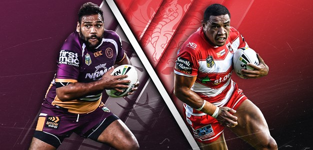 Broncos v Dragons - Elimination Final