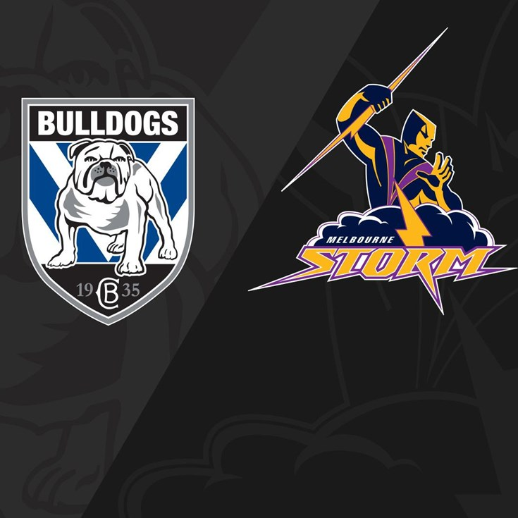 Full Match Replay: Bulldogs v Storm - Round 1, 2018