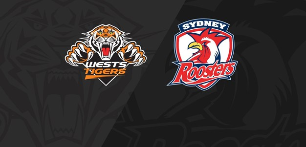 Full Match Replay: Wests Tigers v Roosters - Round 1, 2018