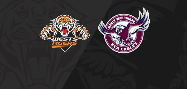 Full Match Replay: Wests Tigers v Sea Eagles - Round 24, 2018