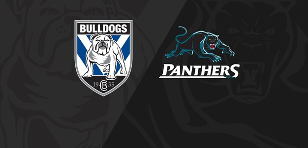 Full match replay: Bulldogs v Panthers - Round 3, 2018