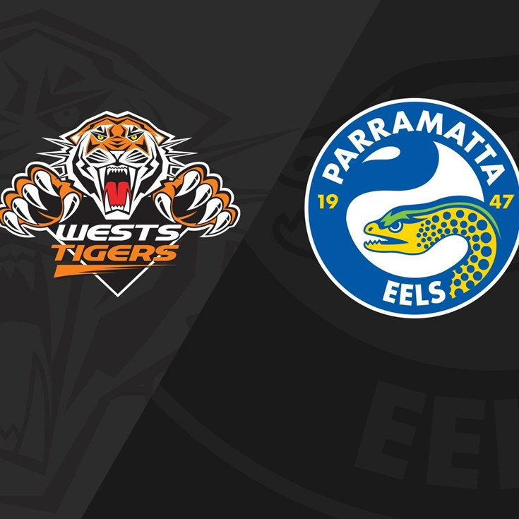 Full Match Replay: Wests Tigers v Eels - Round 4, 2018