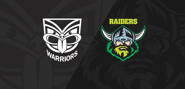 Extended Highlights: Warriors v Raiders - Round 25, 2018