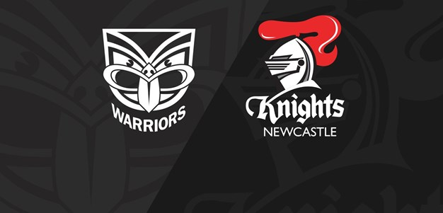 Full Match Replay: Warriors v Knights - Round 22, 2018