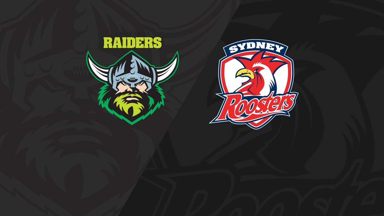 Full Match Replay: Raiders v Roosters - Round 23, 2018