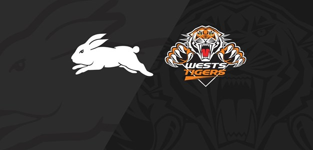 Extended Highlights: Rabbitohs v Wests Tigers - Round 25, 2018
