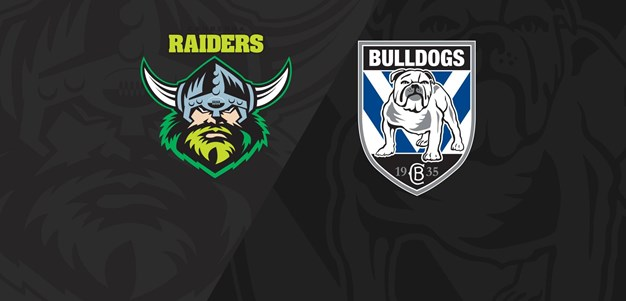 Full Match Replay: Raiders v Bulldogs - Round 5, 2018