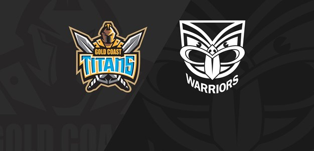 Full Match Replay: Titans v Warriors - Round 20, 2018
