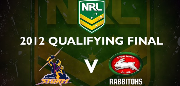 Finals Footy Flashback: Qualifying Final - Storm v Rabbitohs