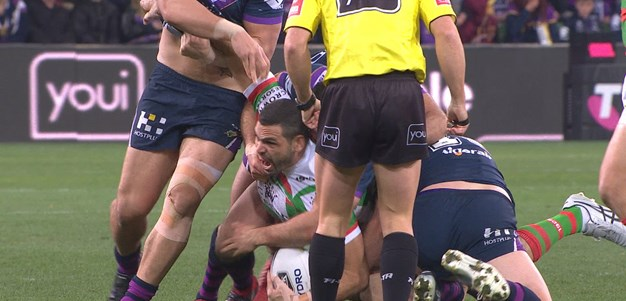 Inglis left reeling after Bromwich tackle