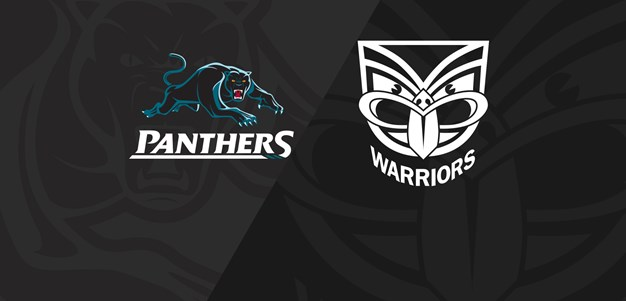 Full Match Replay: Panthers v Warriors - Finals Week 1, 2018