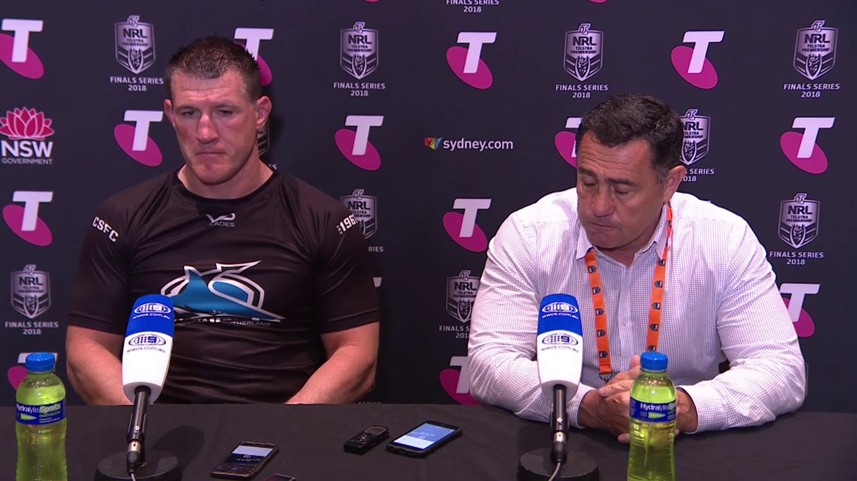 Sharks press conference – Finals Week 1