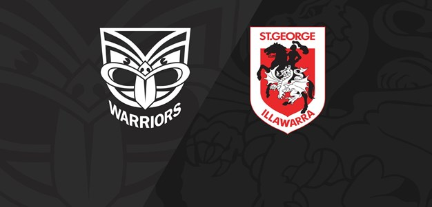 Full Match Replay: Warriors v Dragons - Round 7, 2018
