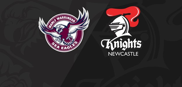 Full Match Replay: Sea Eagles v Knights - Round 8, 2018
