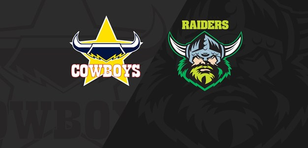 Full Match Replay: Cowboys v Raiders - Round 8, 2018