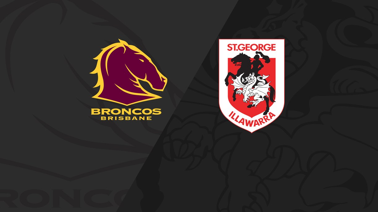 Extended Highlights: Broncos v Dragons - Finals Week 1, 2018