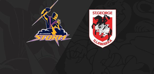 Full Match Replay: Storm v Dragons - Round 17, 2018
