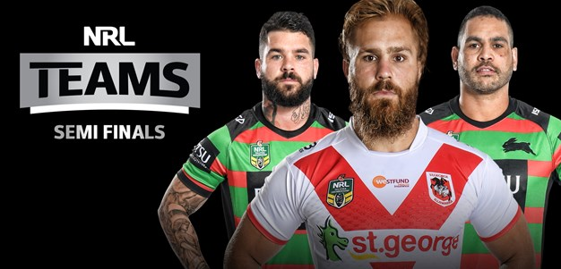 NRL Teams - Semi Finals