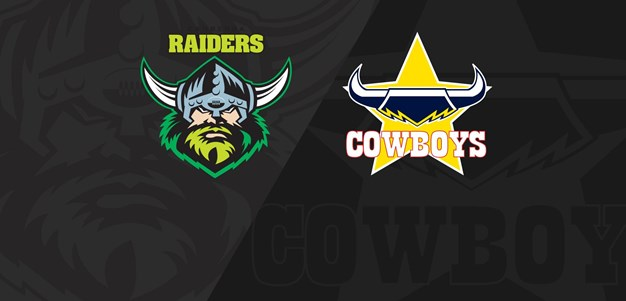 Full Match Replay: Raiders v Cowboys - Round 18, 2018