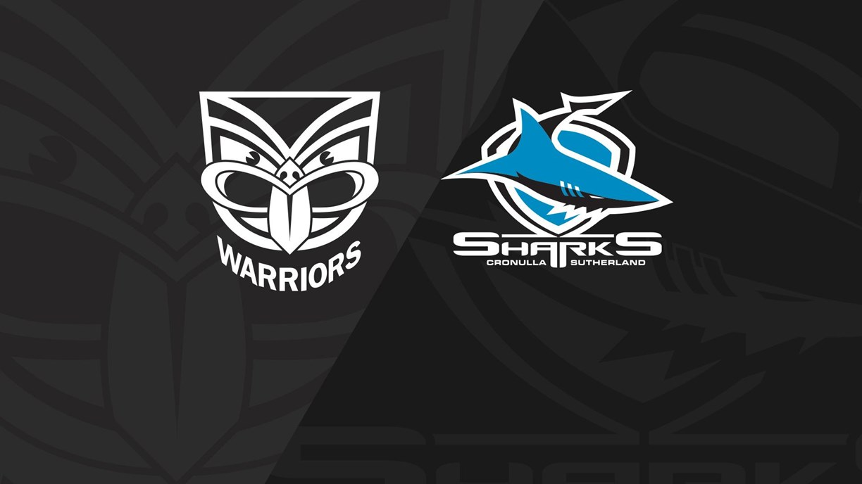 Full Match Replay: Warriors v Sharks - Round 16, 2018