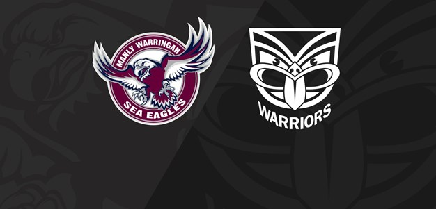 Full Match Replay: Sea Eagles v Warriors - Round 14, 2018