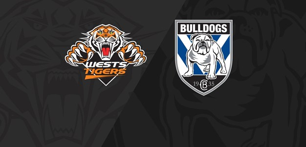 Full Match Replay: Wests Tigers v Bulldogs - Round 12, 2018
