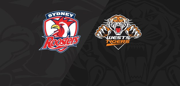 Full Match Replay: Roosters v Wests Tigers - Round 13, 2018