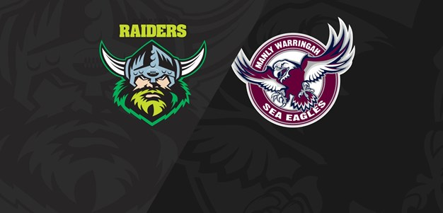Full Match Replay: Raiders v Sea Eagles - Round 12, 2018