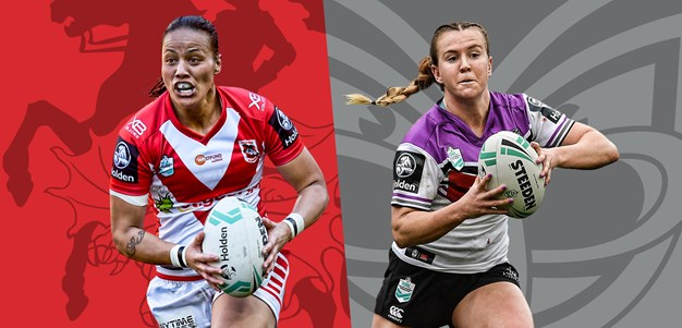 NRLW Dragons v Warriors - Round 2