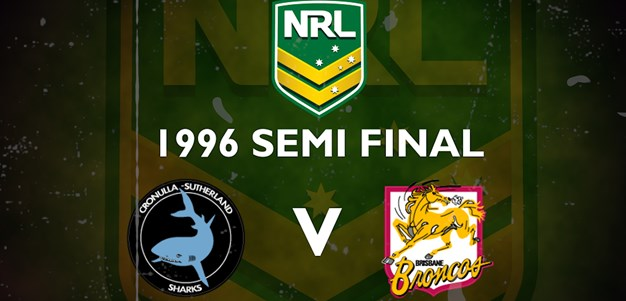 Finals Footy Flashback: 1996 Semi Final Sharks v Broncos