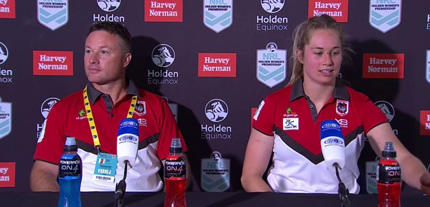 Dragons press conference: NRLW Round 2, 2018