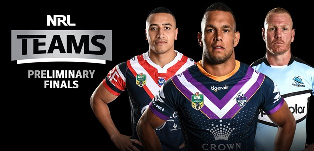 NRL Teams - Preliminary Finals