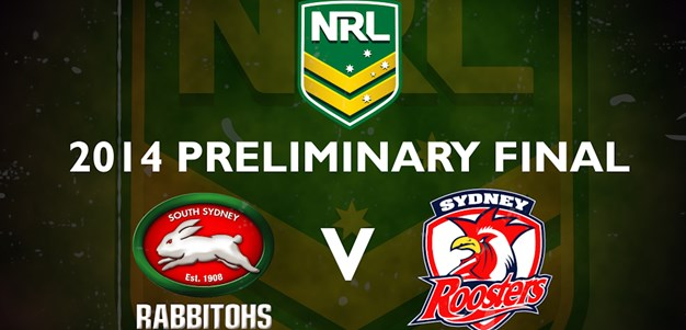 Rabbitohs v Roosters - Preliminary Final, 2014