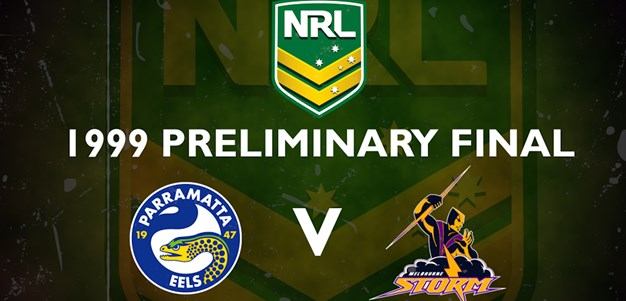 Finals Footy Flashback: 1999 Preliminary Final Eels v Storm