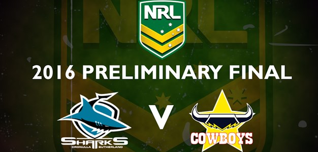 Finals Footy Flashback: 2016 Preliminary Final Sharks v Cowboys