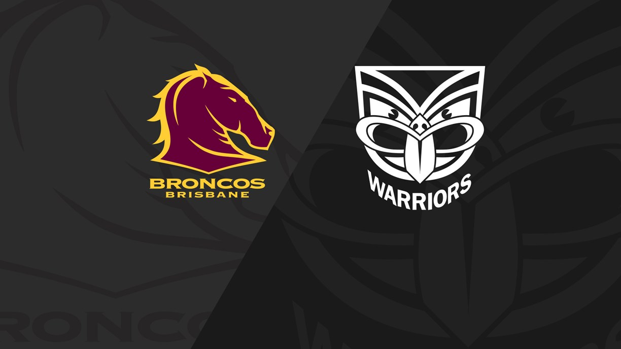 Full Match Replay: Womens Premiership Broncos v Warriors - Round 3, 2018