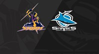 Extended Highlights: Storm v Sharks - Finals Week 3, 2018