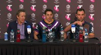 Storm press conference - Preliminary Final