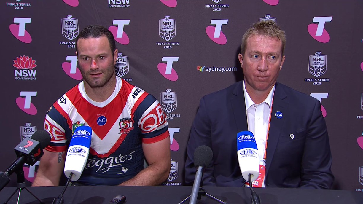 Roosters press conference: Finals Week 3, 2018