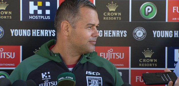 Injury blow for Rabbitohs