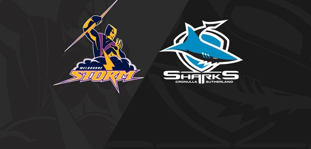Full Match Replay: Storm v Sharks - Finals Week 3, 2018
