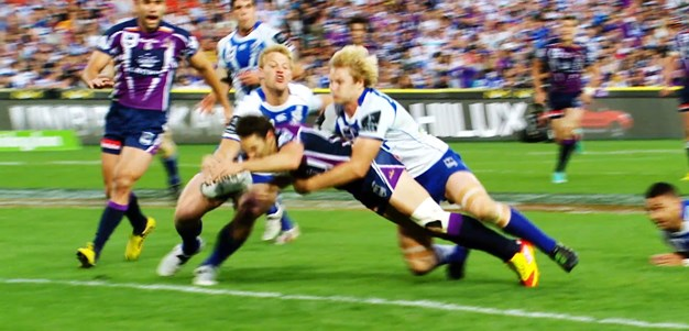 Great Grand Final Moments: 2012 Billy Slater Try