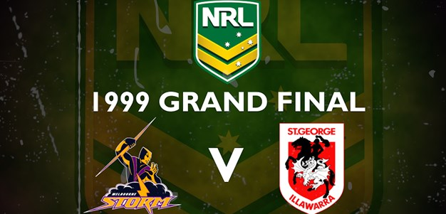 Footy Flashback: 1999 Grand Final Storm v Dragons