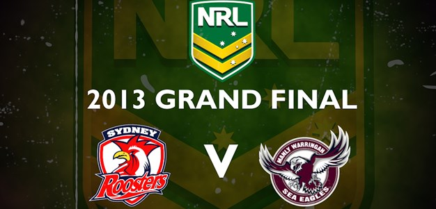 Footy Flashback: 2013 Grand Final Roosters v Sea Eagles